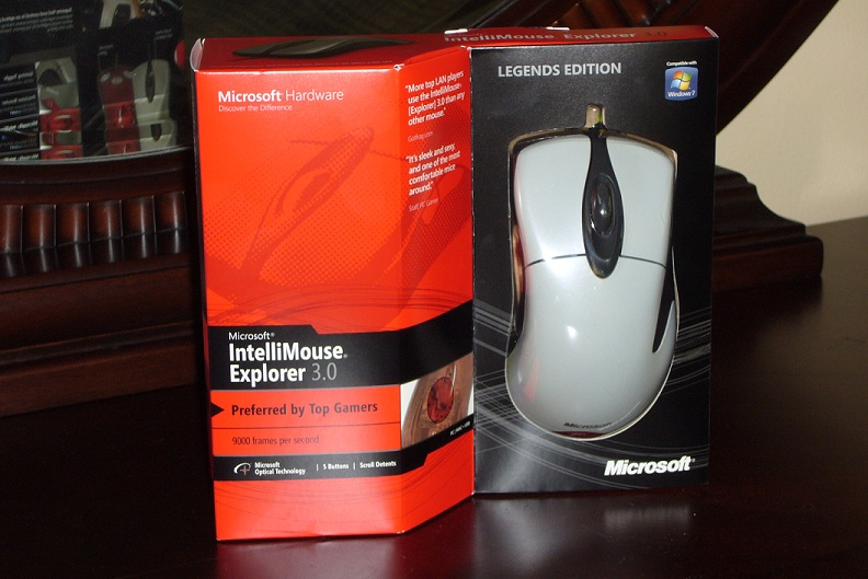 Intellimouse 3.0 Legends Edition