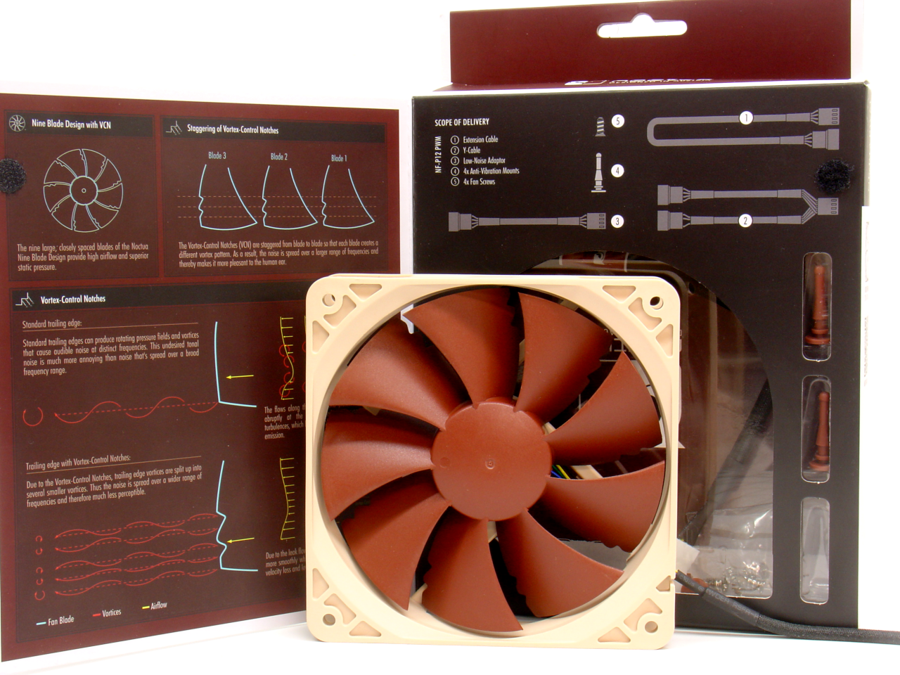 Noctua NF-P12 PWM and box