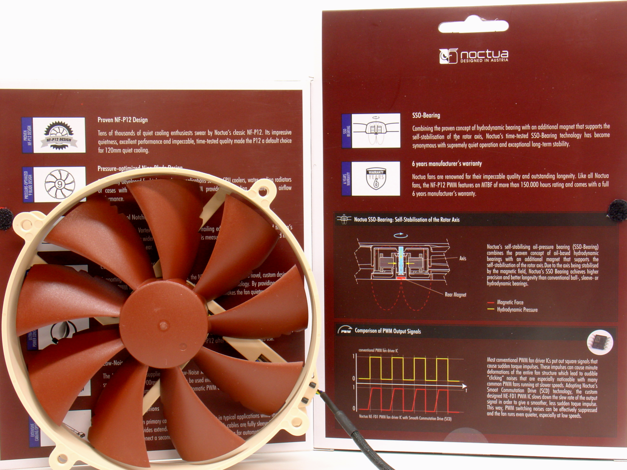 Noctua NF-P14 PWM and P12 box