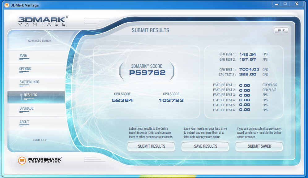 I would like to know if two HD 7970 crossfire can get this score I get with My 2-GTX 580 SLi..