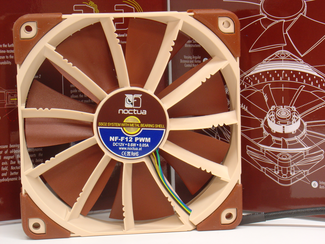 Noctua NF-F12 PWM and box