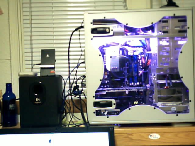 Bad pictures I know, had to take them with my webcam. But anyways, this is my rig and a random picture of myself.