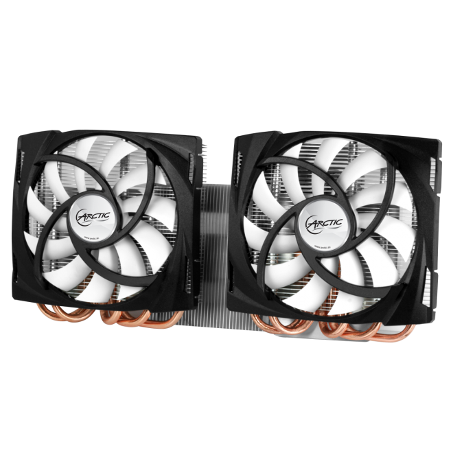 Arctic Cooling Accelero Twin Turbo VGA Cooler for AMD Radeon HD 6990 - DCACO-V680001-BL