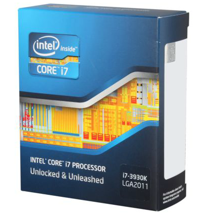 Intel Core i7-3930K 3.2 1 LGA 2011 Processor - BX80619I73930K