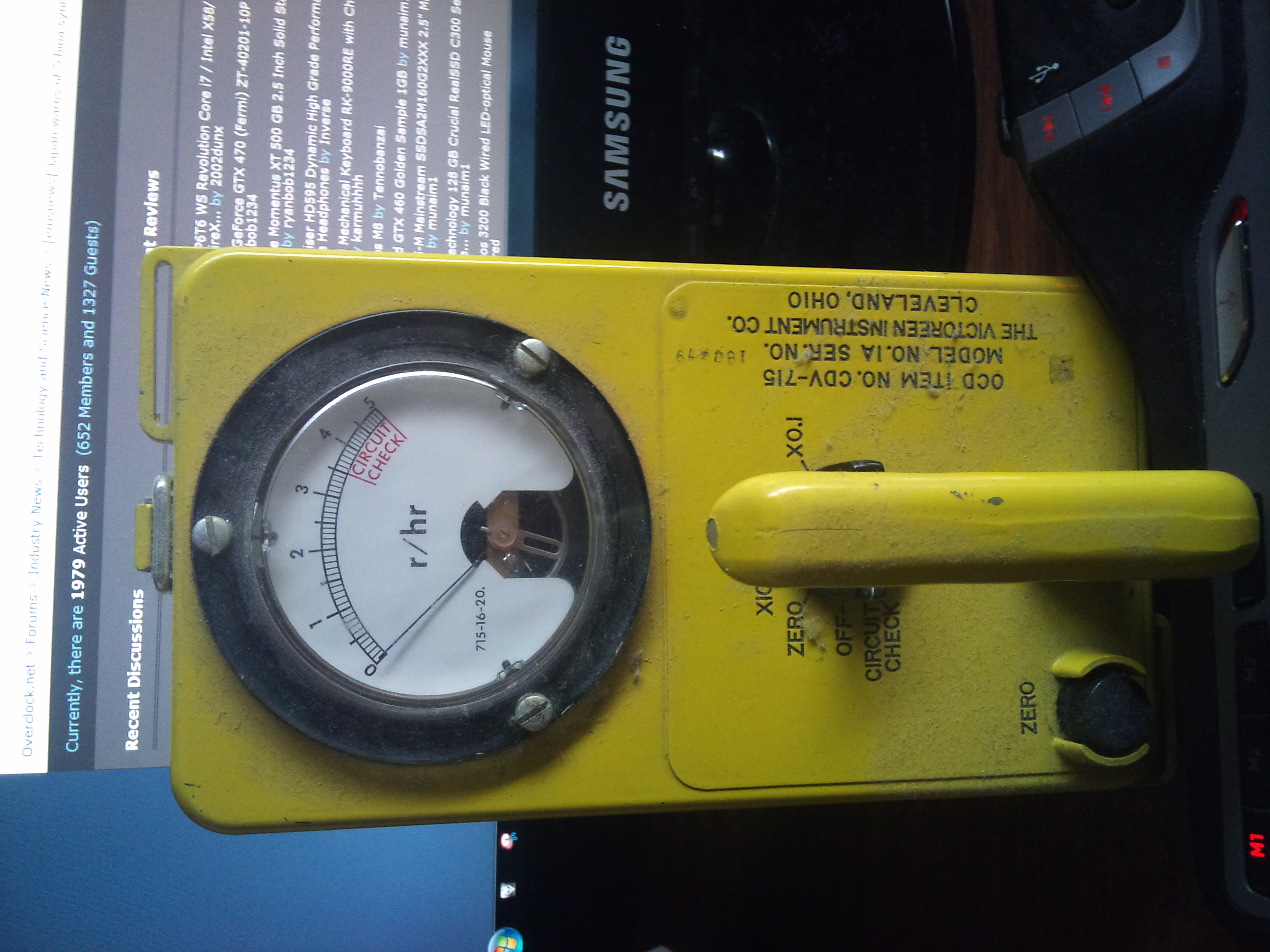 My Geiger counter!