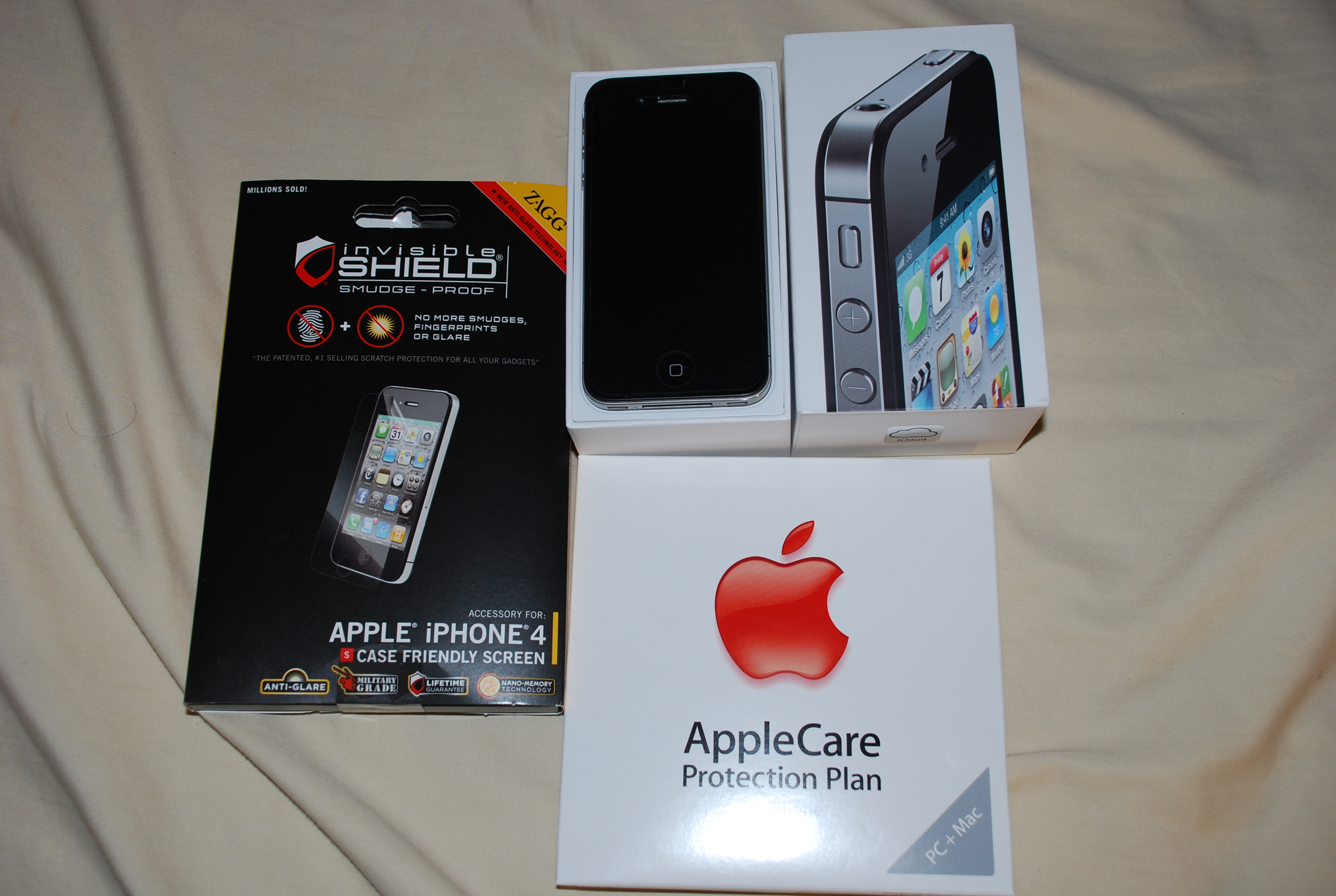 Iphone 4s 16gb Box Iphone 4s 16gb With Applecare