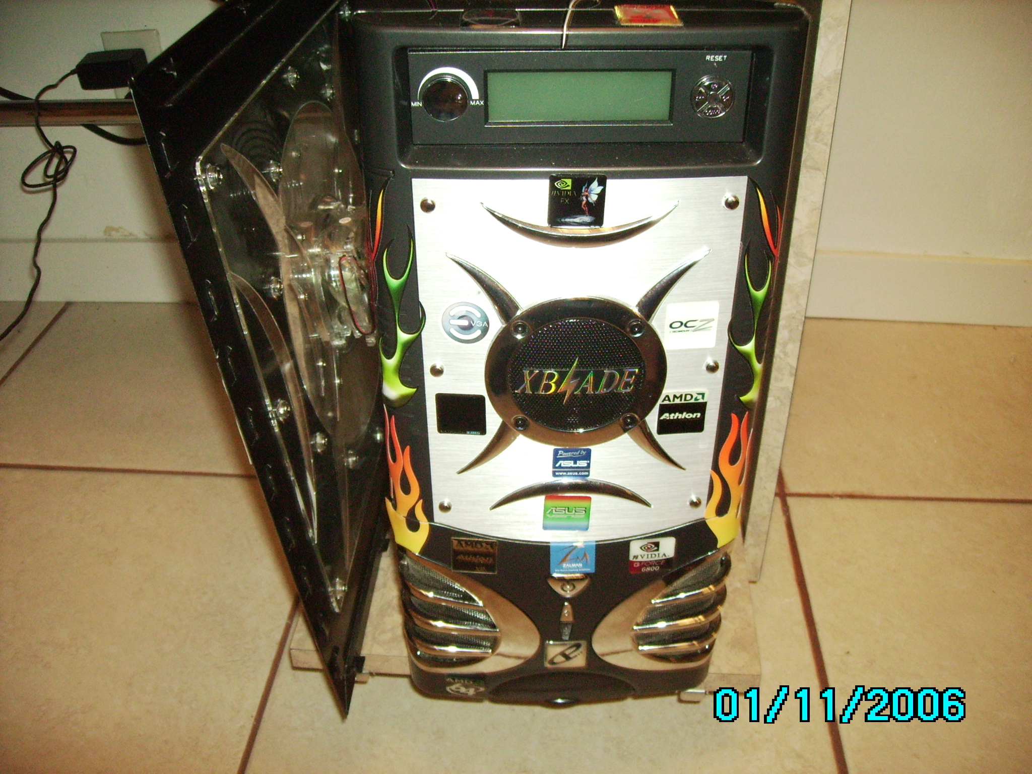 Front of PC