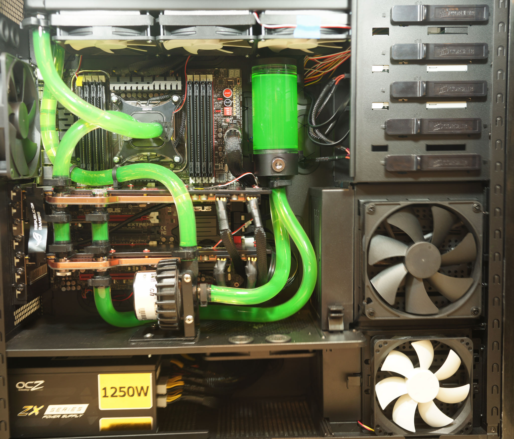 Water Cooling, second design, high resolution.  See my build diary for the reason why there is a second design.