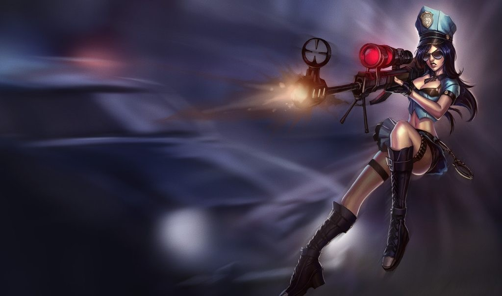 P.O League Of Legends Champs And Skins 078d2600_1920px-Caitlyn_OfficerSkin