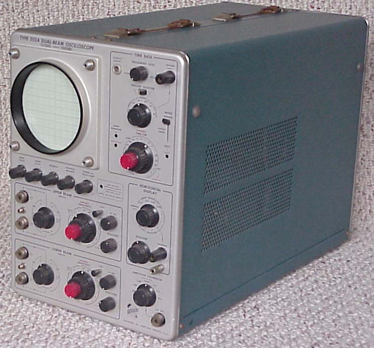 Oscilloscope For Computer Box : Converting a salvaged oscilloscope into one hell of an
