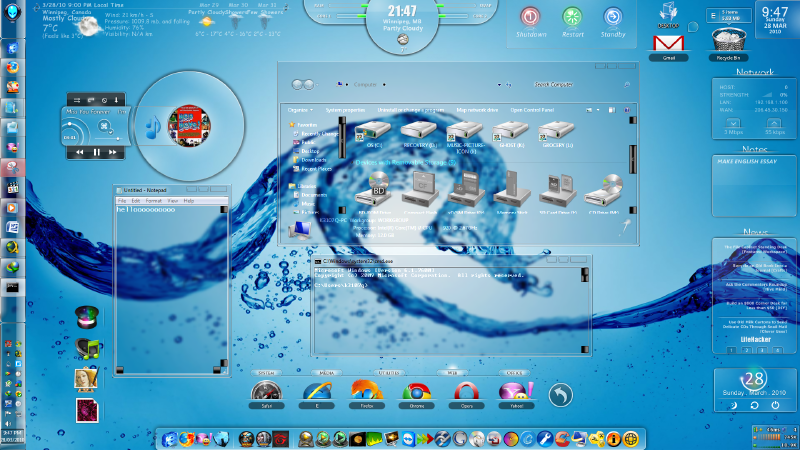 3d full glass theme for windows 7 free download