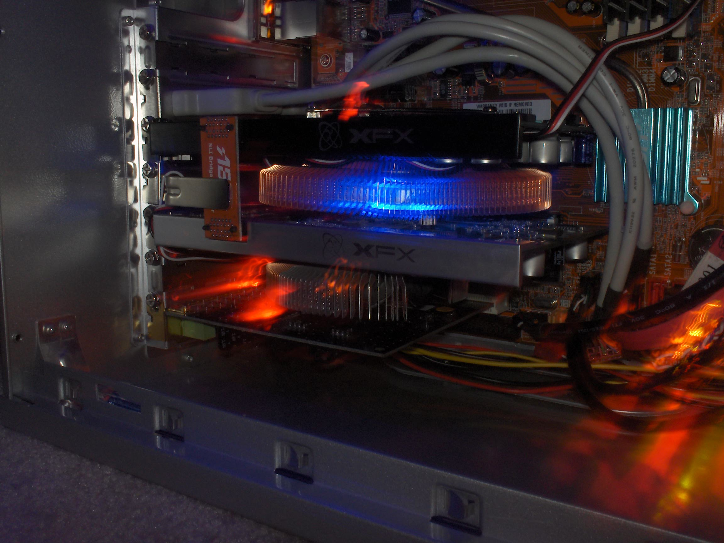2x XFX 7600 GT xXx with Zalman coolers