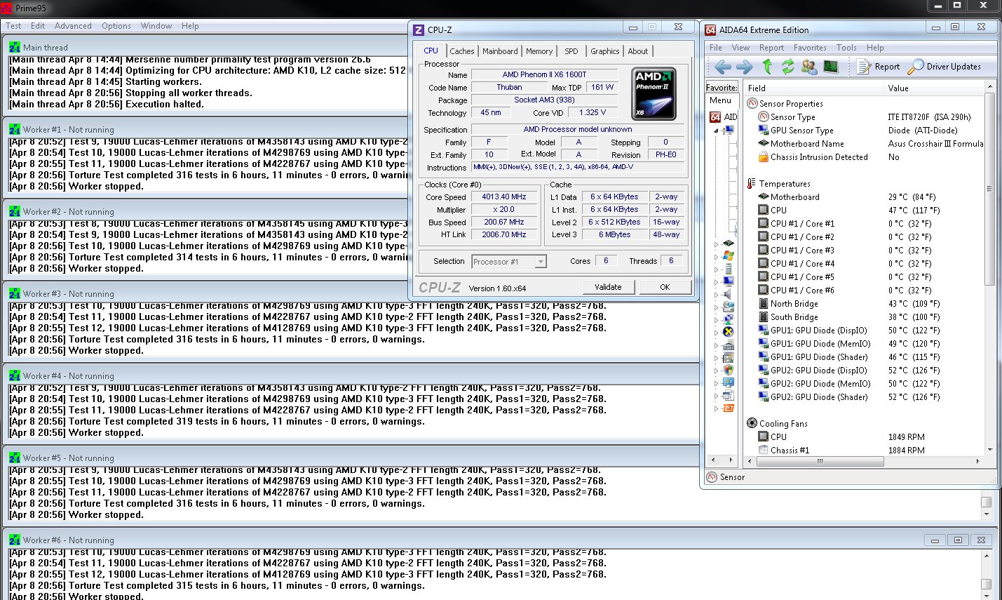 PII x6 1600T 6_Hours Prime95 Stable @ 4013MHz.PNG