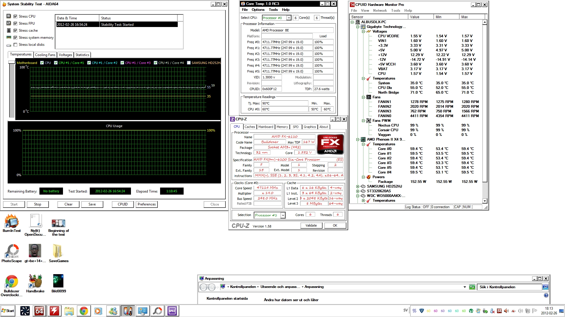 AMD FX Stable Voltages & Frequencies Thread - Page 5