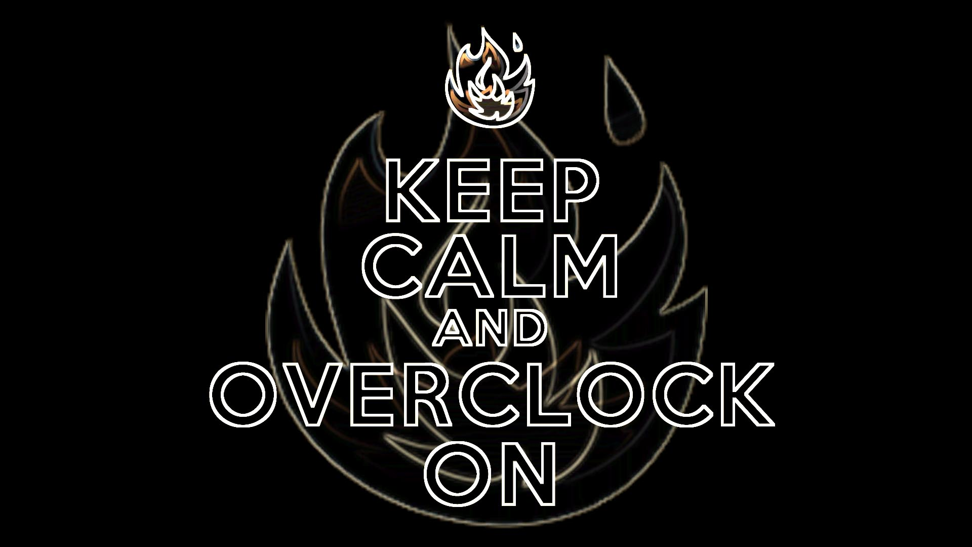 keep calm and overclock wallpaper 578797