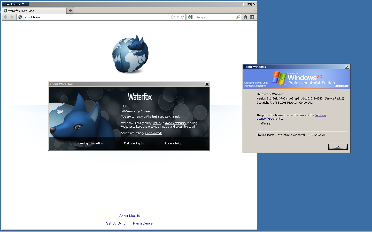 Waterfox 56 0 2: 7 January [Free, open and private web browser