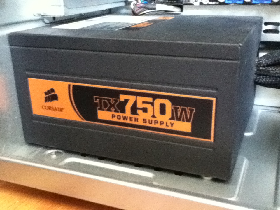 corsair TX750 watt power supply