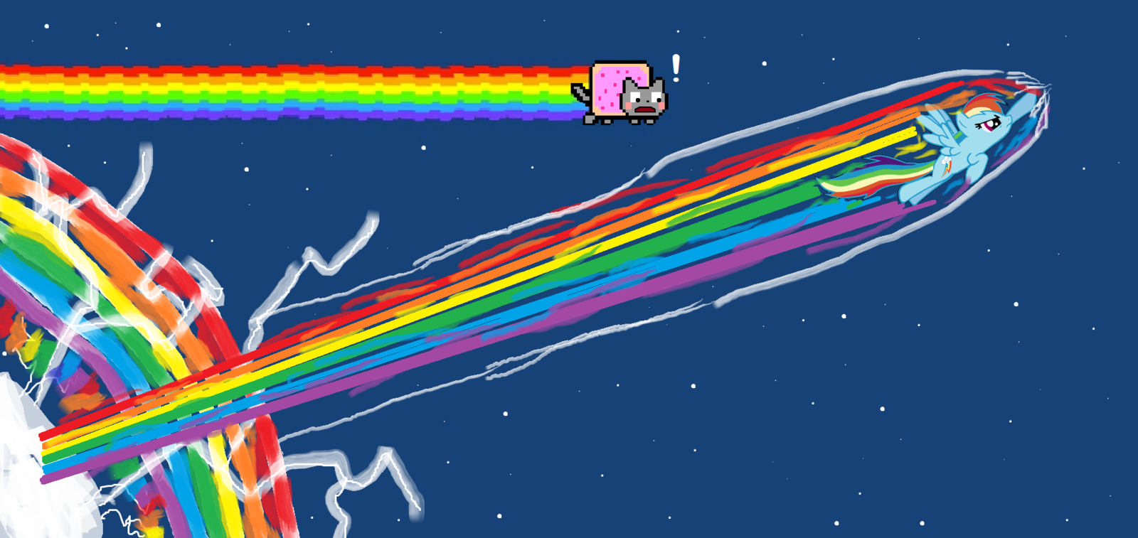Displaying 17 gt images for nyan cat rainbow png