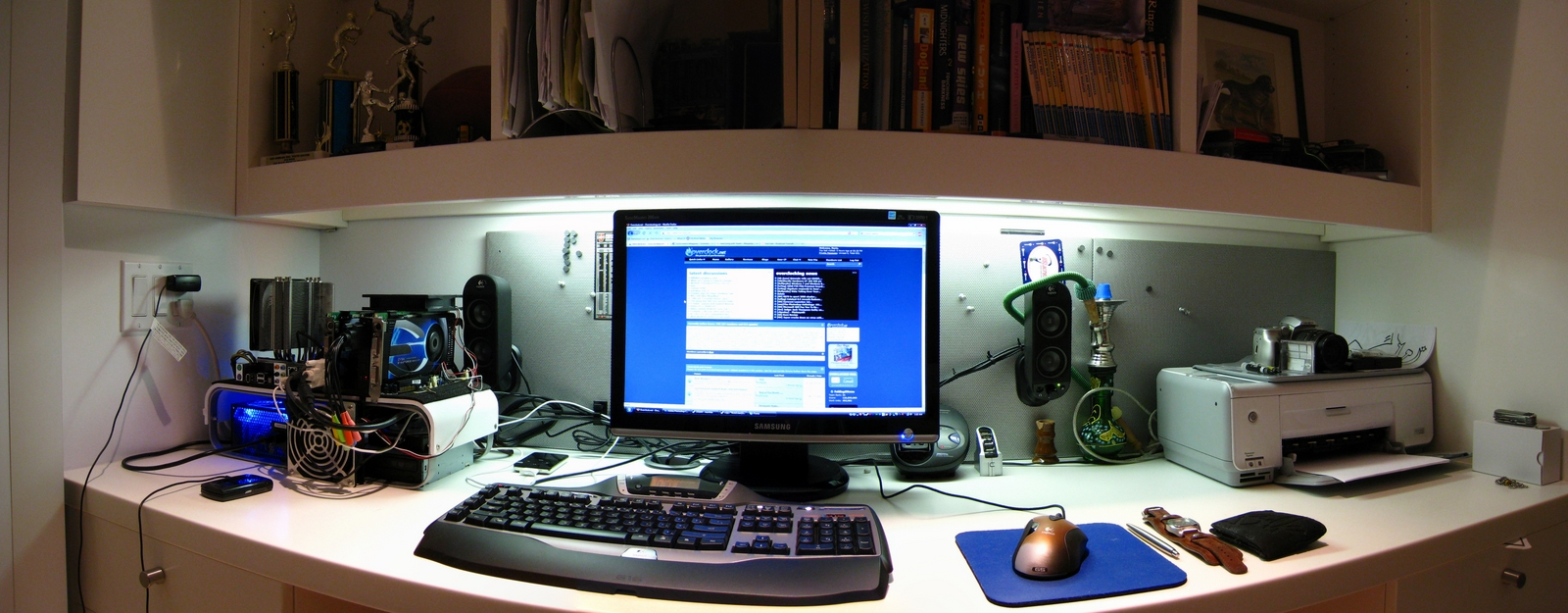 It's a panorama so it is distorted.