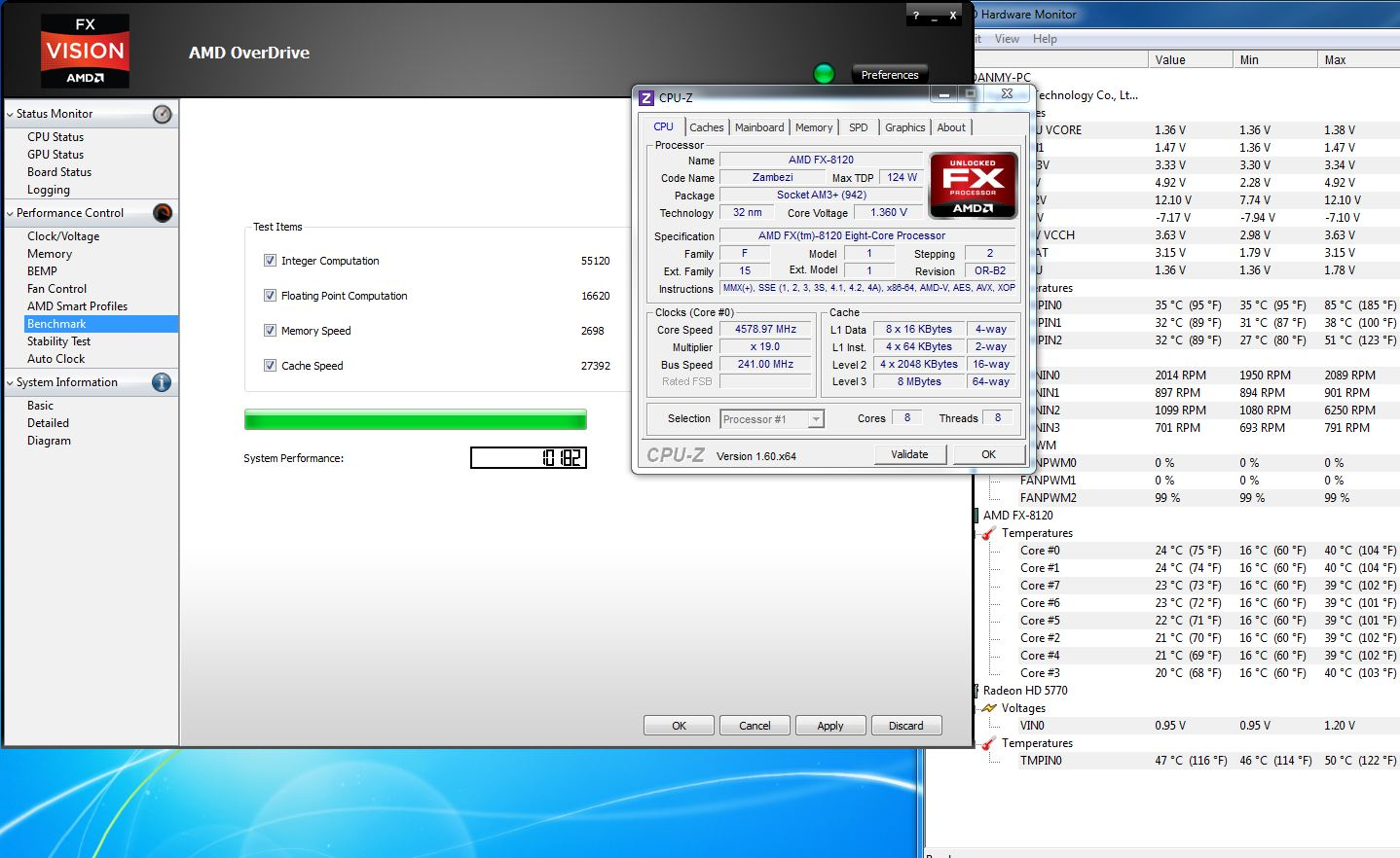 AMD Overdrive Scores - Page 4 - Overclock net - An