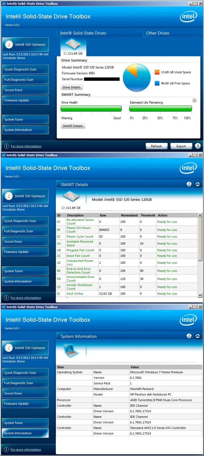 Notebook Intel Tool Box