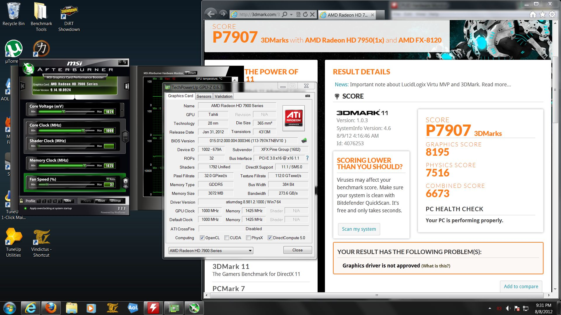 Official] AMD Radeon HD 7950/7970/7990 Owners Thread - Page