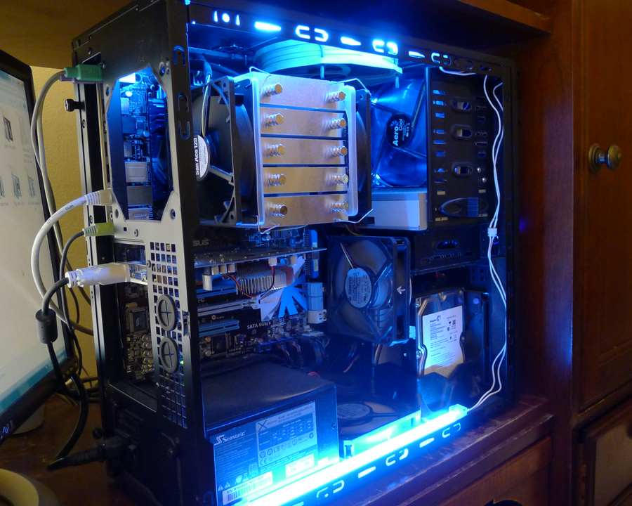 My rig, from the inside