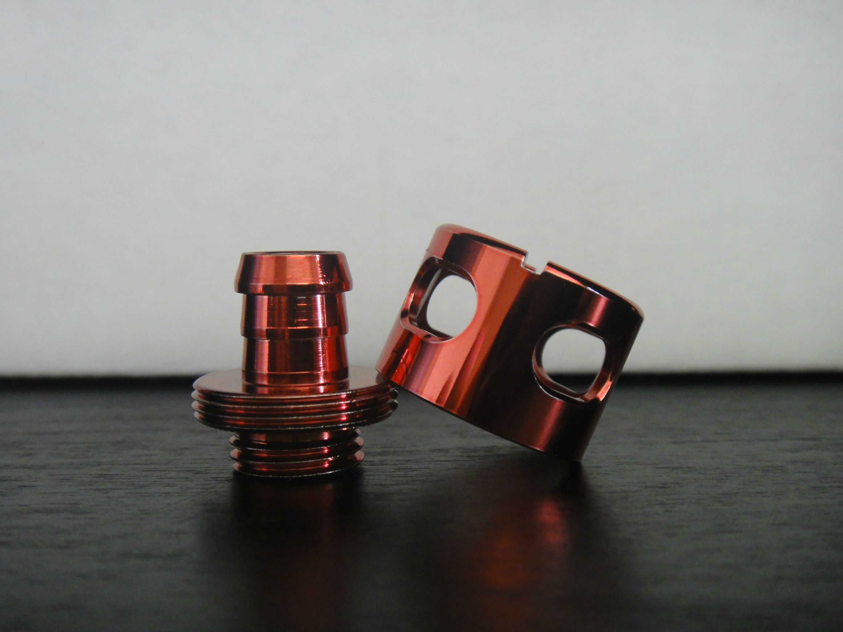 Red Monsoon Compression Fittings