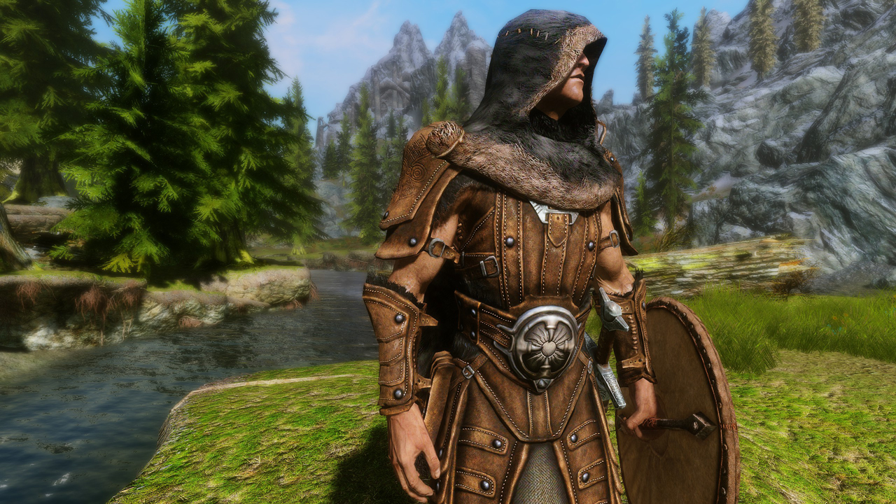Skyrim best looking armor long hairstyles