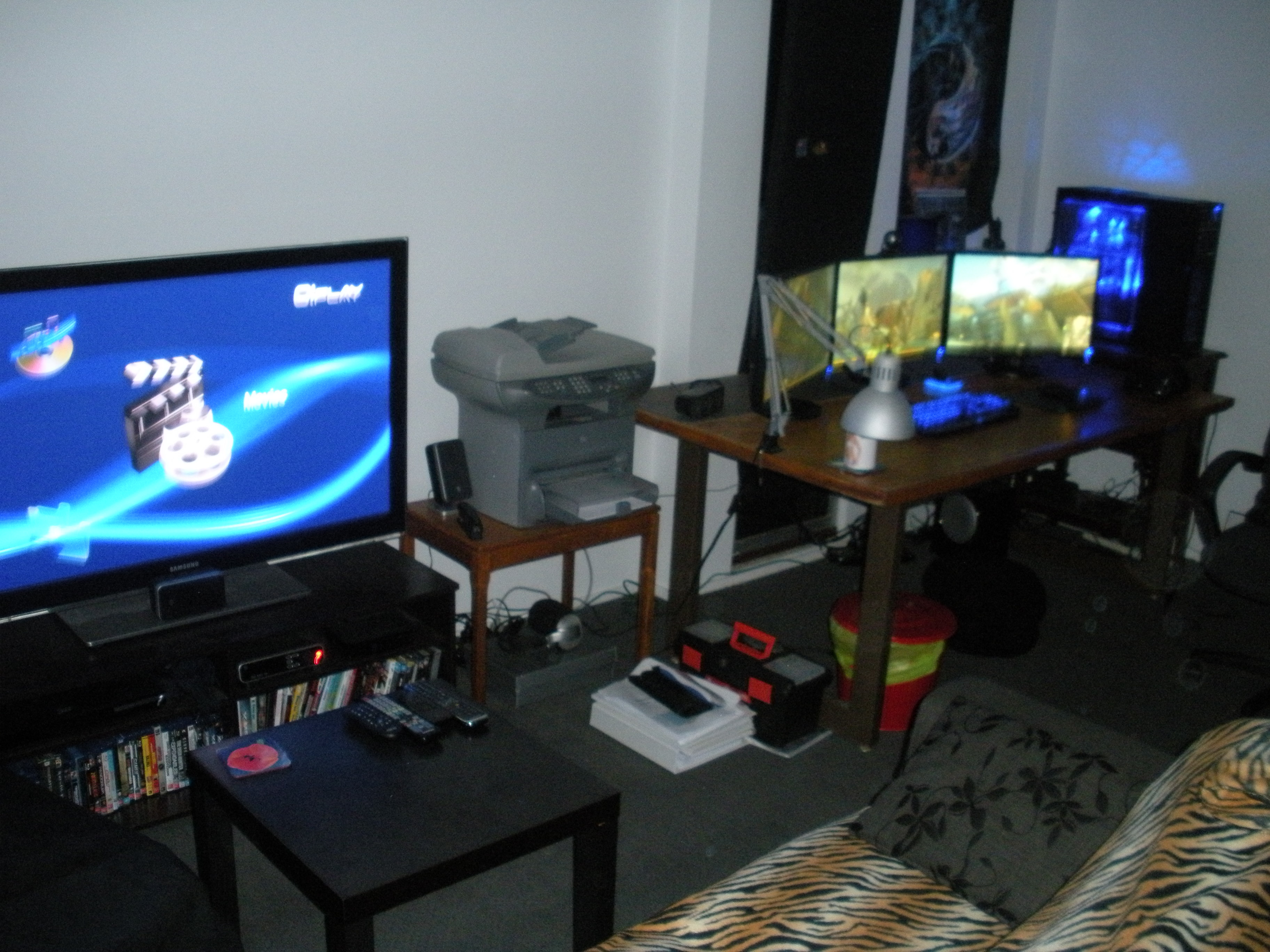 Man Cave Computer Room : Official computer room pics page overclock an