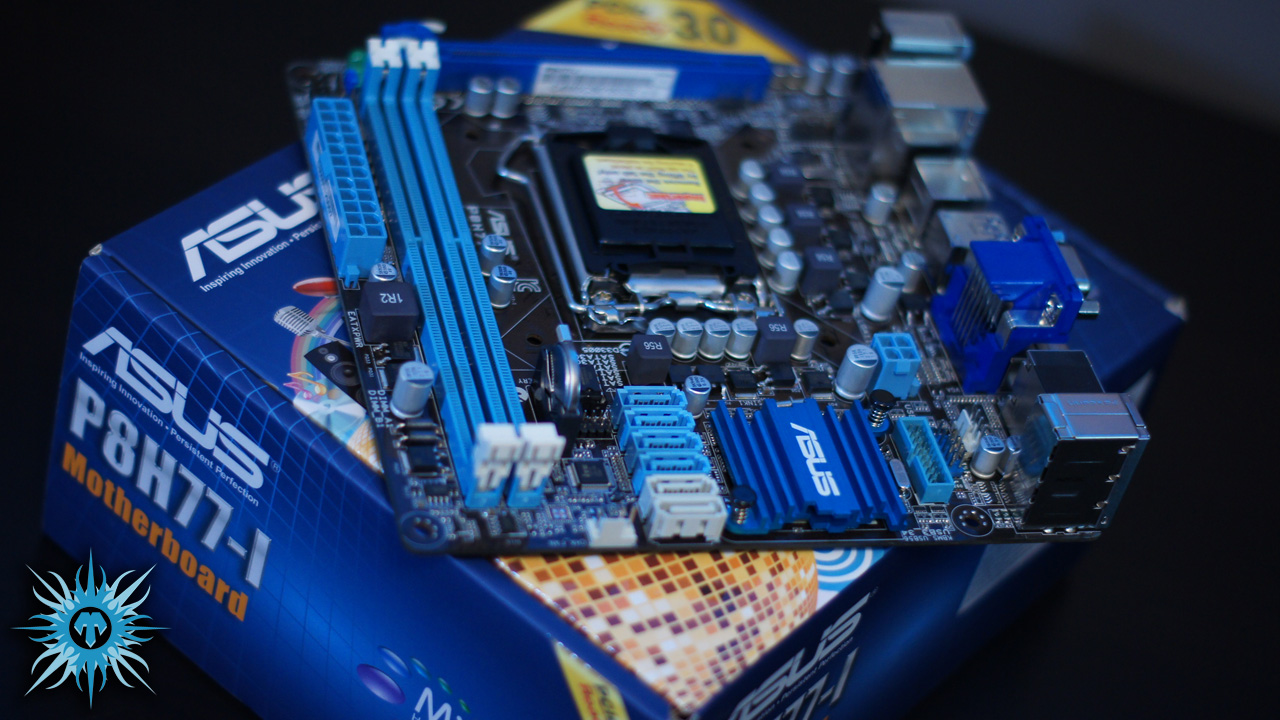 Asus P8H77-i mITX motherboard