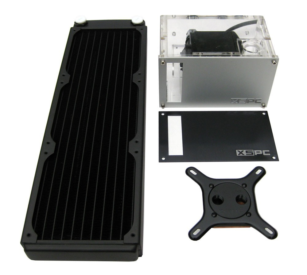 XSPC Rasa 750 RS360 Water cooling kit