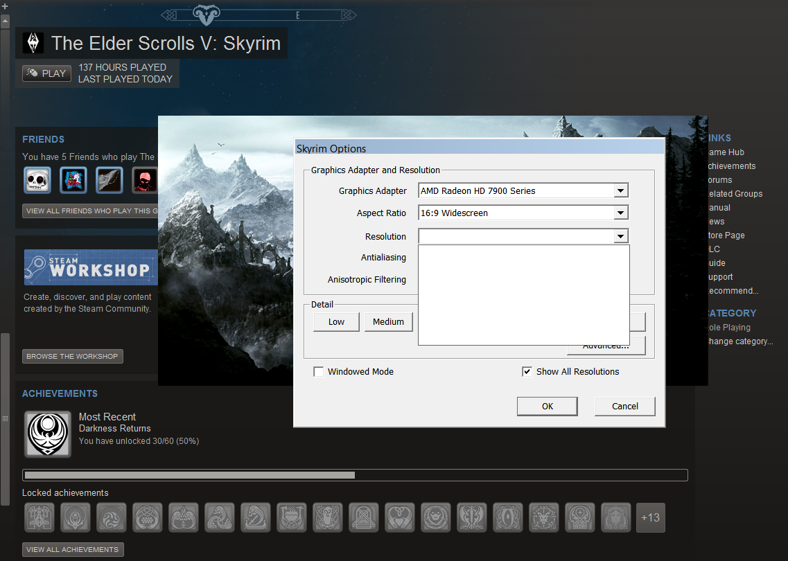 Just got a gigabyte Radeon HD 7970  And now skyrim will not