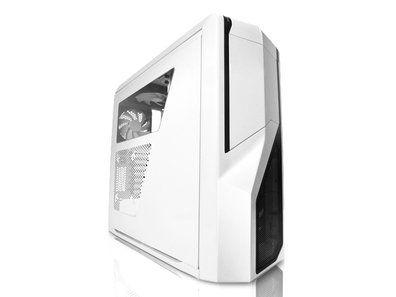 Nzxt Phantom 410 CA-PH410-B1 White Computer Case With Side Panel Window