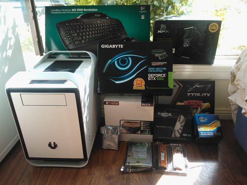 The start of my new PC!