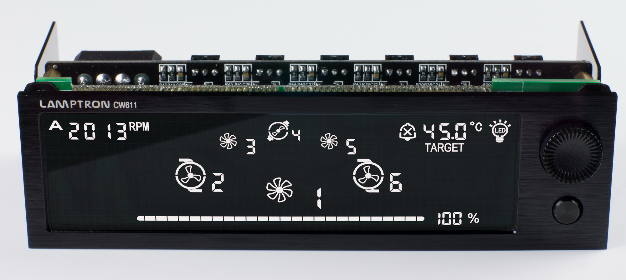 Thread: LAMPTRON CW611 water cooling assisted fan controller! #2F6647