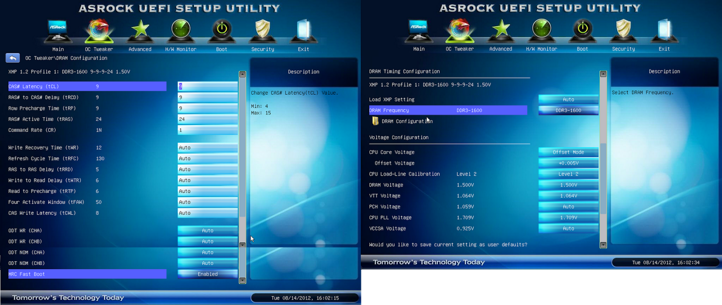 Example Image Click to show Complete Overclocking