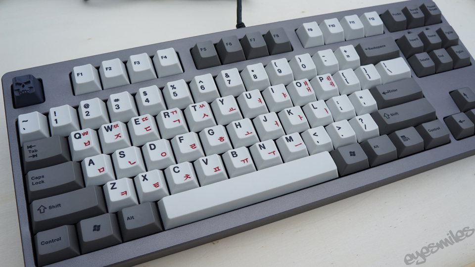 Filco Majestouch 2 - Modified to Cherry MX Panda-Clears