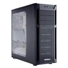 Antec Eleven Hundred Black Computer Case With Side Panel Window