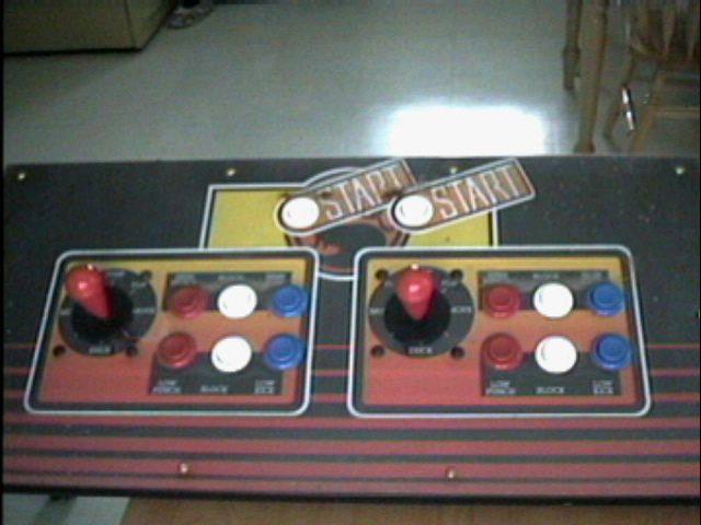 The old control panel, ripped it out and sold it to a gentleman in Australia.