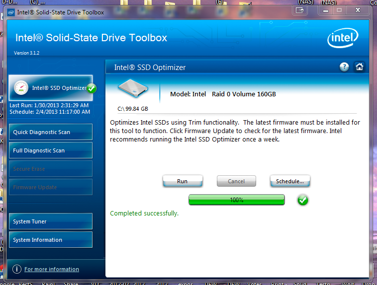 Curly Running Rapid Storage Technology Driver V 11 2 0 1006 I Am Also Able To Access Intel Gui Iastorui Exe And