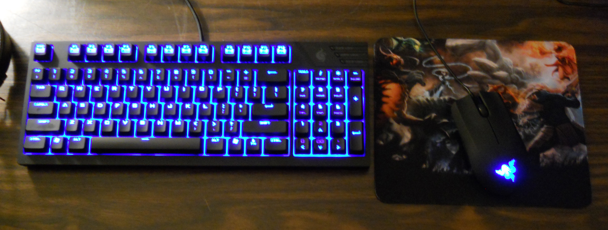 post a pic of your mouse keyboard pad combo