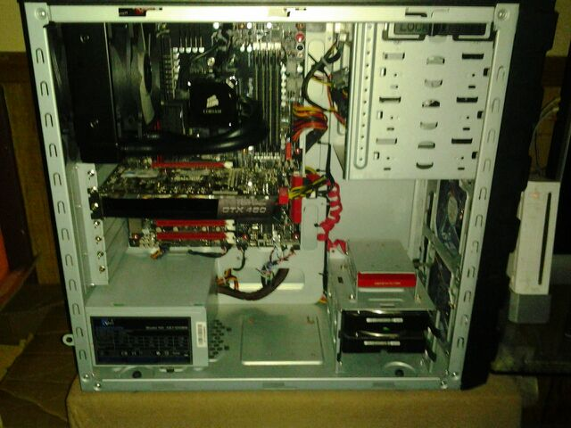 Close up of pc