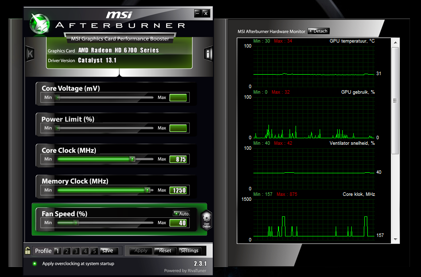 Screen flickers after overclocking  - Overclock net - An