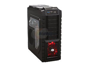 COOLER MASTER HAF X RC-942-KKAA00 Black Computer Case w/ 1000W Power Supply