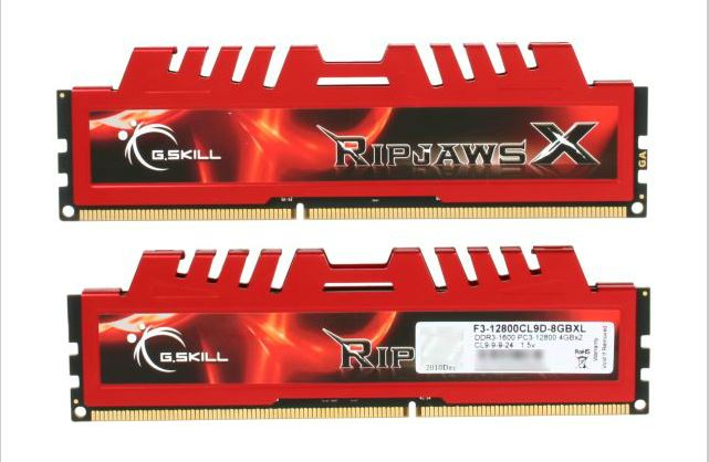 G.SKILL Ripjaws Series 4GB DDR3 1600