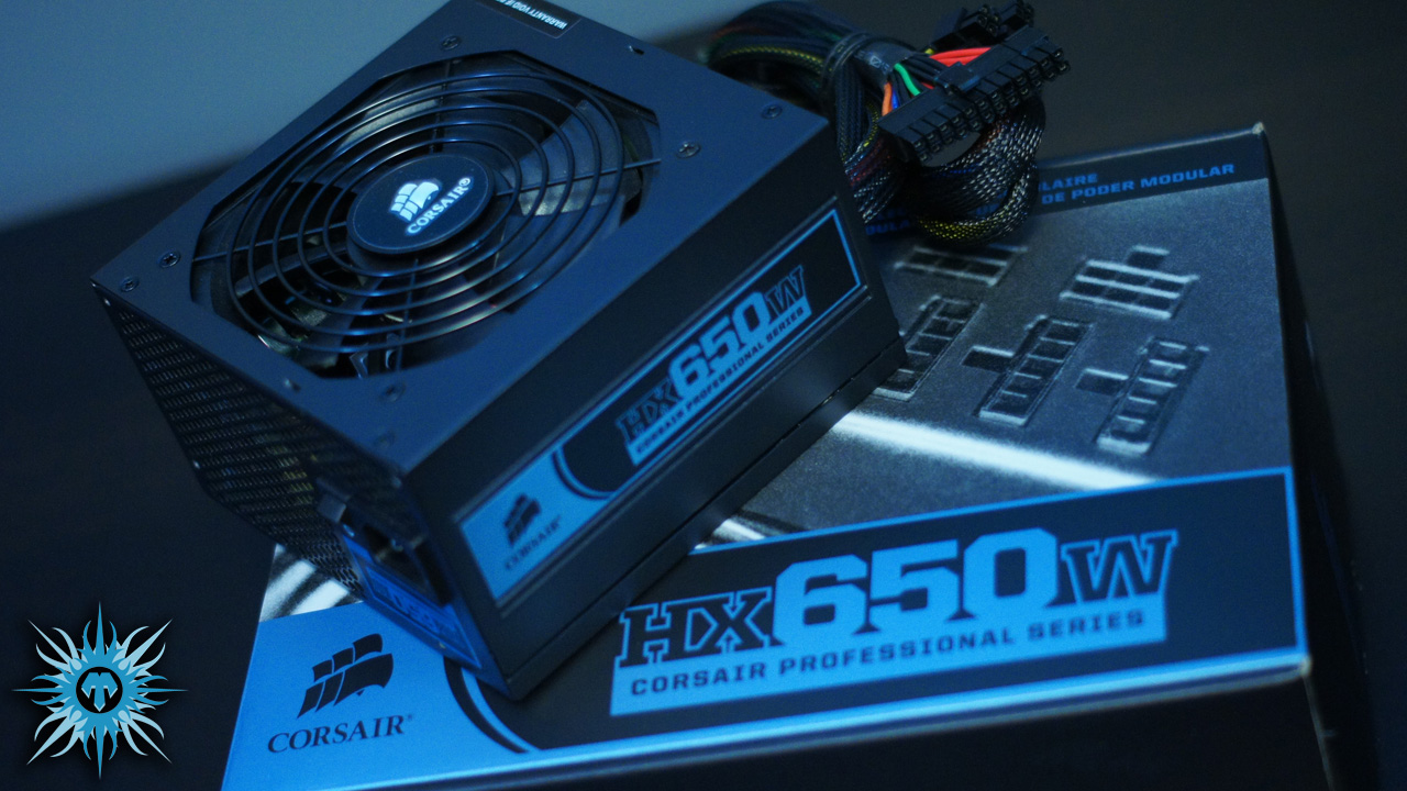 Corsair HX650w Power Supply