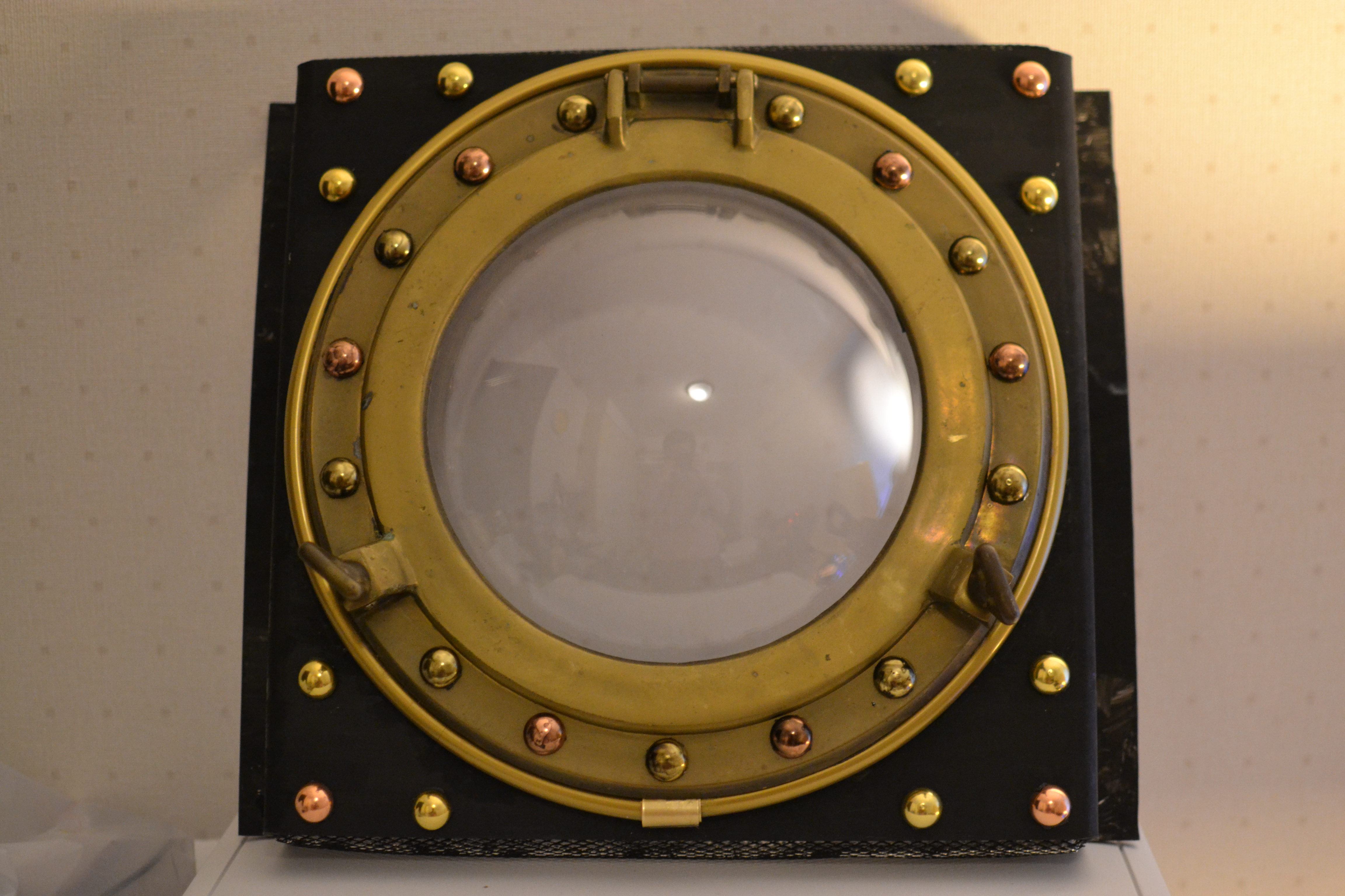 The Steampunk PC Second Face Panel