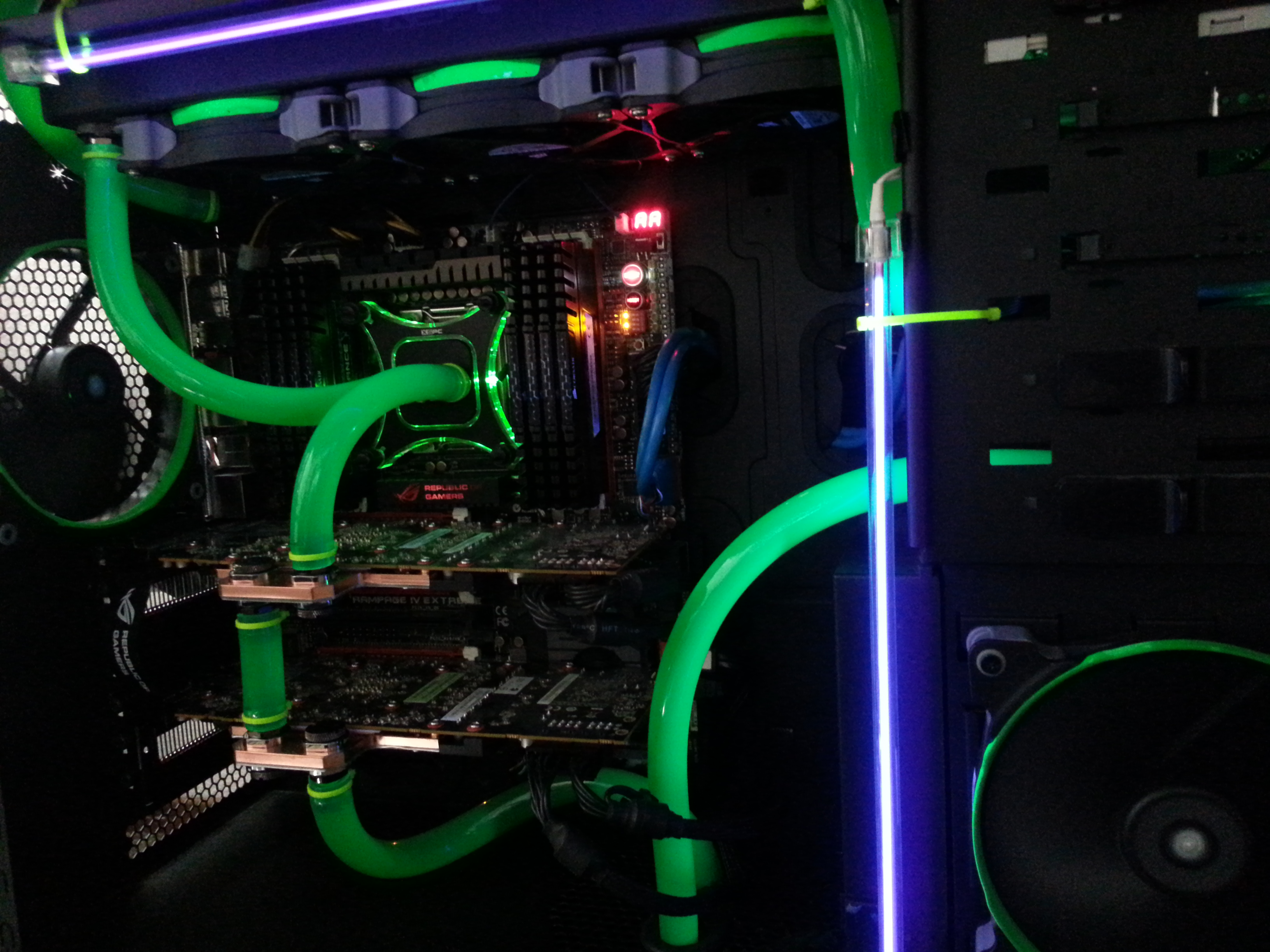 My first attempt at a custom loop.