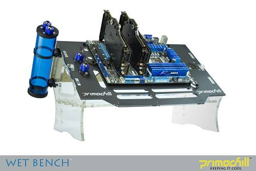 Primochill's Pre-Production Wet-Bench currently only 5 exist in the world. the other 4 belong to Primochill and are prototypes. I am the only one in the world Outside of Primochill that has one.